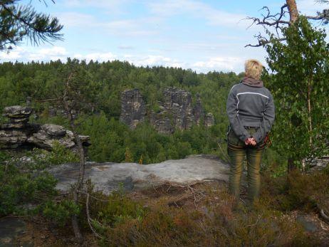 Auf zwei Rädern, per pedes oder kletternd – Kurztrips ins Bielatal