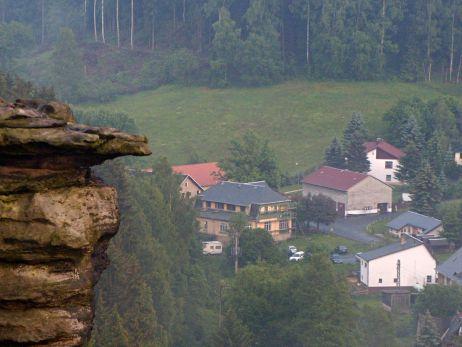 Bild von oben auf die Ottomühle