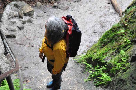 Testbericht: Wetterfester Alleskönner – Auf Klettersteigtour mit dem Gear Pack 40 von Ortlieb