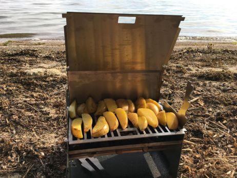 Lecker Kochen mit dem Fennek Outdoor Grill