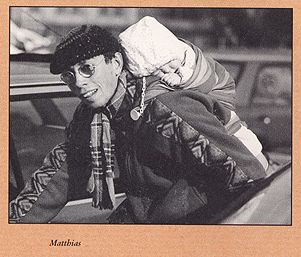 Matthi auf dem tapir Katalog-Cover 1994