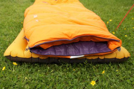 Trek TKI Women - Lässt sich in eine Decke umwandeln (2)