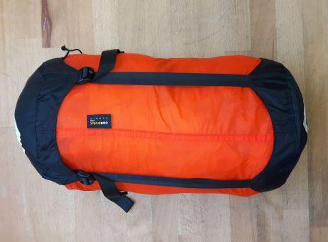Trek TKI Women - Packsack mit Schlafsack drin