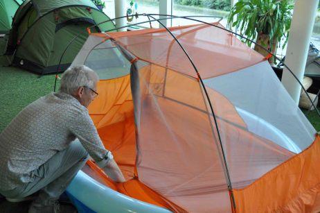 Der Platzwart informiert: 1.200 mm Wassersäule am Zeltboden – kein Grund zur Sorge!