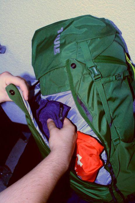 AllTrail 45l - Die Shove-It-Tasche überzeugt