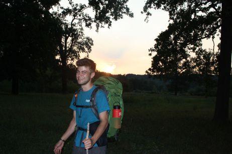 Wandern mit Tourenrucksack