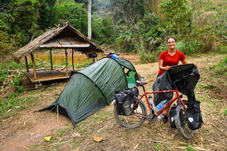 Mit dem Fahrrad durch Laos