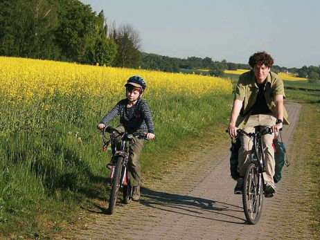 Radeln im Leipziger Umland