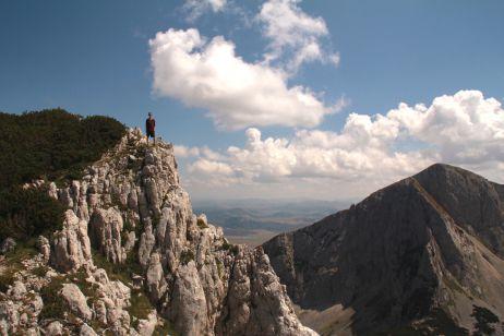 Auf dem Gipfel des Medjed