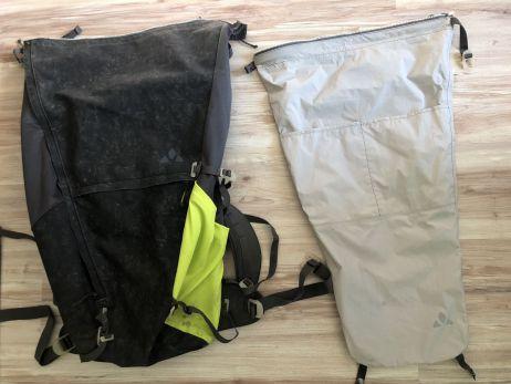 Green Core M - Der wasserdichte Drybag lässt sich herausnehmen