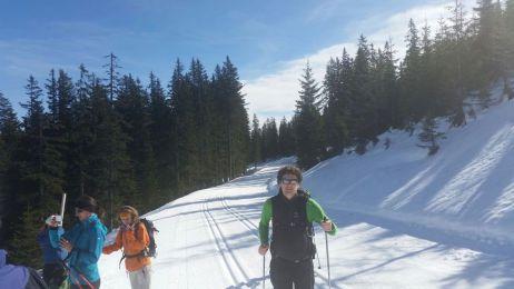Hugo im Schnee