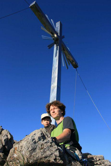 Große und kleine Bergsteiger