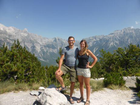 Trampen und Wandern auf dem Balkan