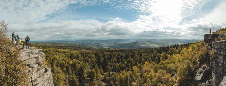 Aussicht vom Hohen Schneeberg