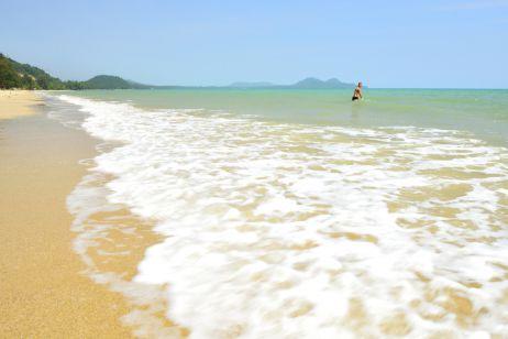Abkühlung im Golf von Thailand