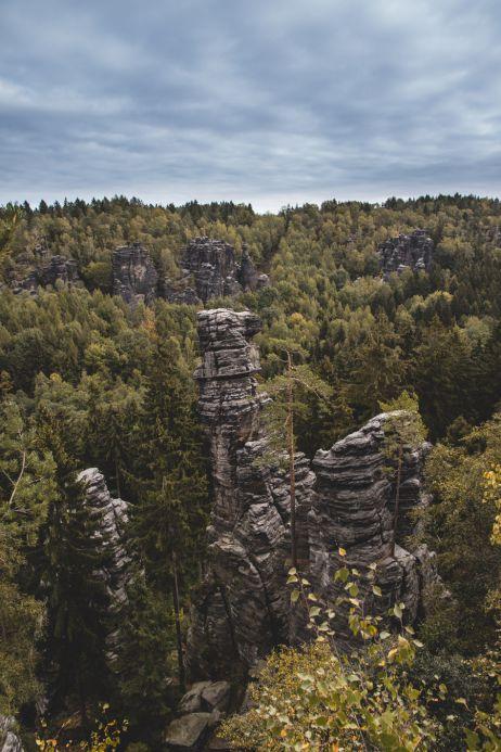 Bizarre Sandsteinformation