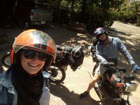Der erste Tag mit dem Motorrad