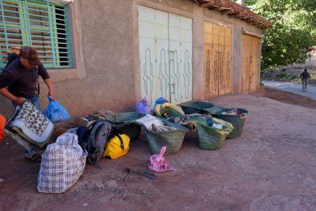 Gepäck für die Tour