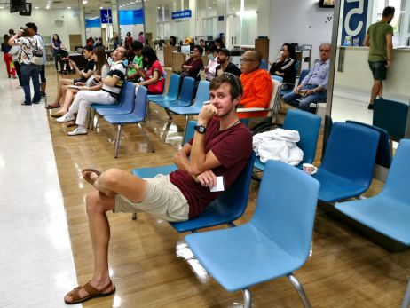 Im Thai-Krankenhaus