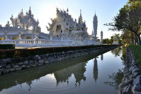 Wat Rong Khun bei Chiang Rai