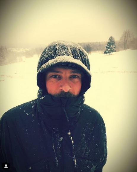 ... oder im Schneegestöber ...