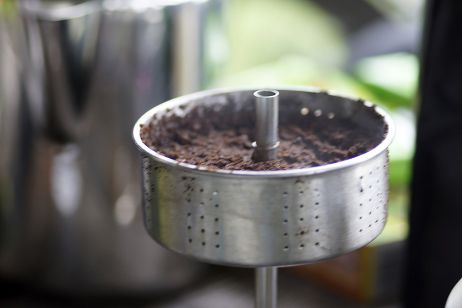 GSI Percolator - Kaffeedetail