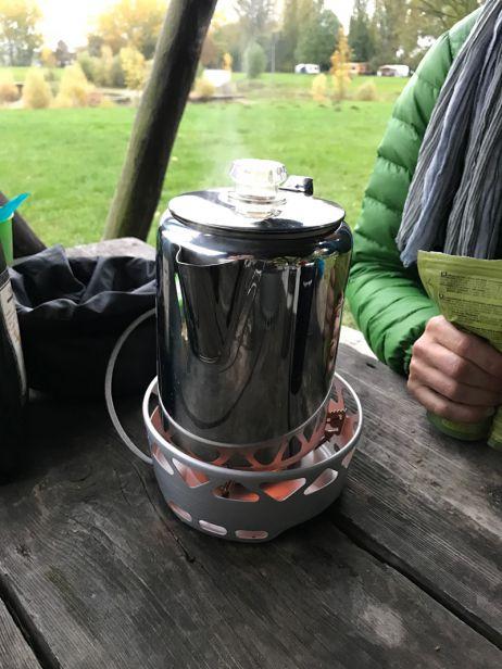 GSI Percolator - Der Kafee ist fertig