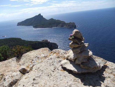Blick zur Insel Sa Dragonera