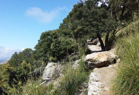 Historischer Reitweg nach Deià