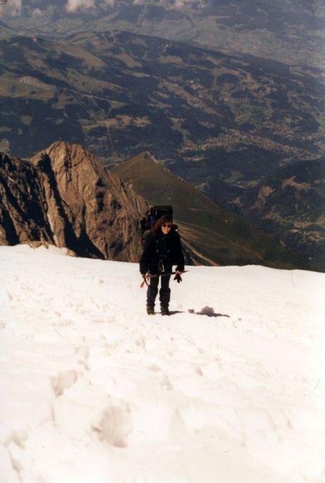 Mont Blanc Aufstieg 2001
