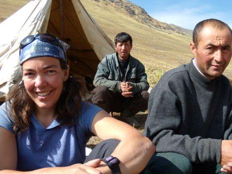 In Kirgistan 2007