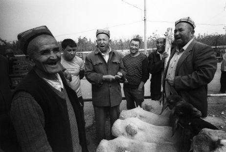 Viehmarkt bei Kashgar