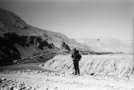Ich in Afghanistan