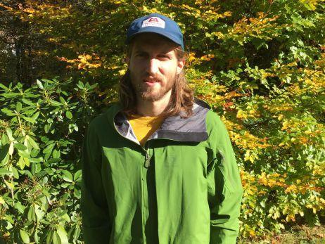 Mit dem Blackyak Hariana Jacket im Thüringer Wald