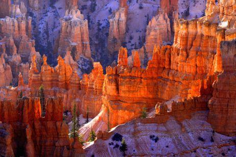 Wintermärchen im Bryce Canyon
