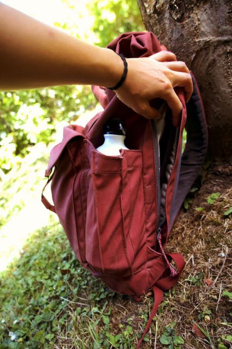 Die Seitentaschen der WP-Variante bieten massig Platz