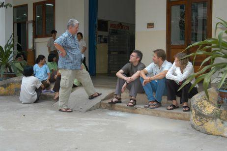 2003 in Vietnam - Tatonka hatte das Finnmark-Team eingeladen, sich an den Produktionsstätten umzusehen