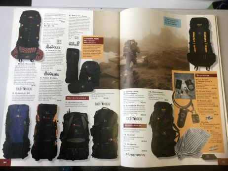 Blick in den tapir-Katalog von 1998