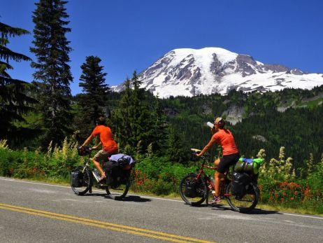 Mit dem Fahrrad durch den Nordwesten der USA (Wyoming, Montana, Oregon, Washington)