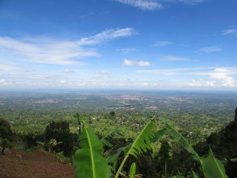 Wanale Hill: Aussicht auf halber Strecke