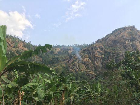 Wanale Hill von unten