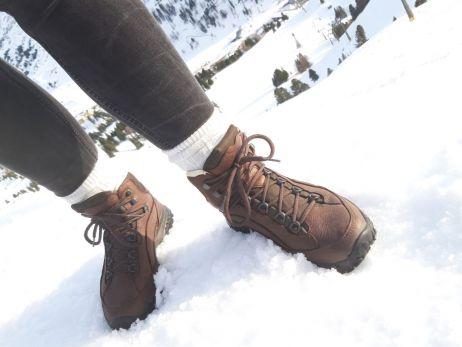 Der Tingri Lady hat die kurze Schneetour gut überstanden