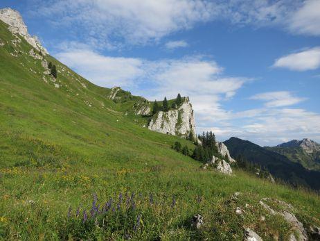 Abstieg vom Gimpel