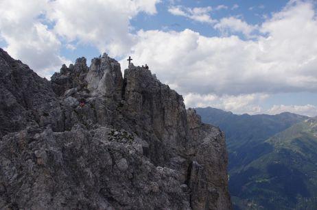 Gipfel Elferspitze im Stubaital