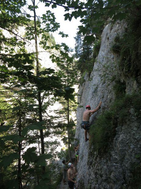 Klettern in Reutte