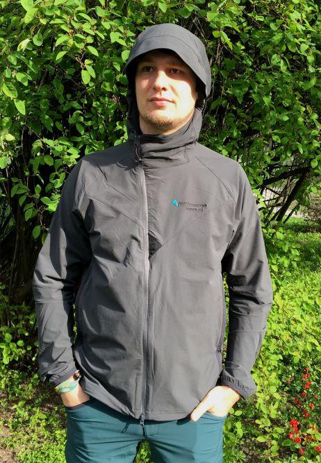 Markus in Klättermusen-Bekleidung