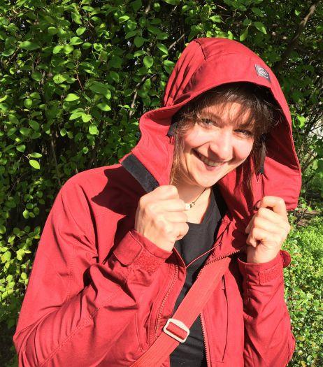 Pia mit dem Habe Jacket von Lundhags