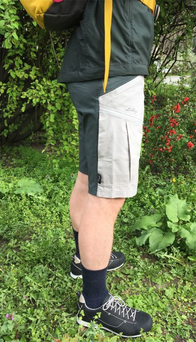 Rabanus mit der Makke Shorts von Lundhags