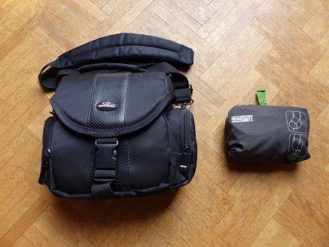 01 - groessenvergleich - klare platzersparnis im rucksack
