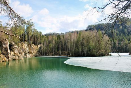 Adersbacher See (Adršpašské jezírko/ Pískovna) - Rundgang